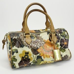 The Original Car Shoe Floral Coated Canvas Purse